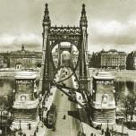 Chain Bridge, Budapest, 1930s