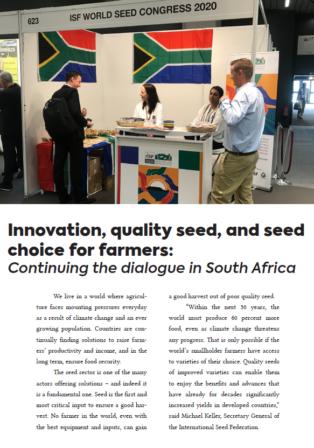 Seed News Nov 2019